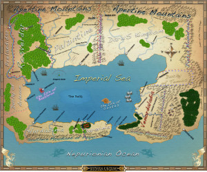 Lord Bazzleron's Map