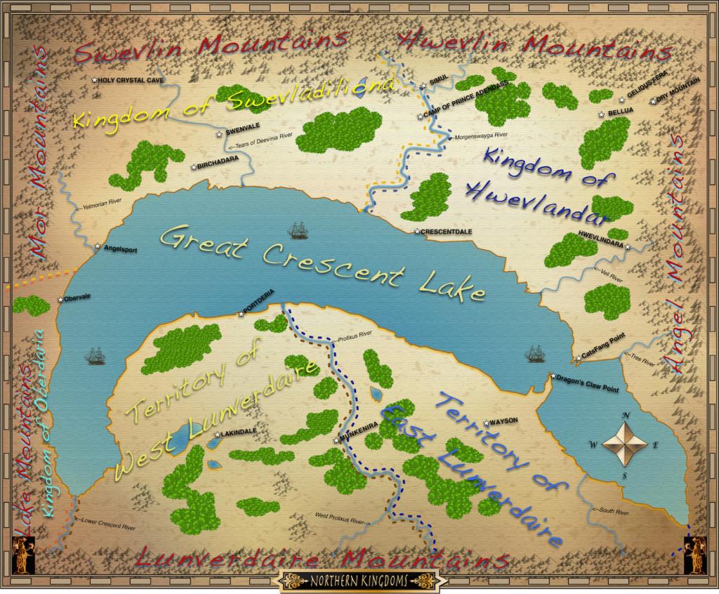 Adilia's Map