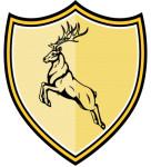 Lord Gravloc, charging elk